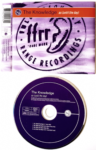 Knowledge (The) - As (Until The Day) (CD Single) (EX/EX)
